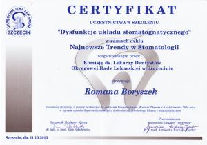 dysfunkcje układu stomatognatycznego